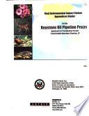 Keystone Oil Pipeline Project  Applicant for Presidential Permit  TransCanada Keystone Pipeline  LP