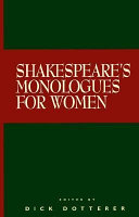 Shakespeare s Monologues for Women