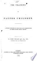 The Training of Pauper Children