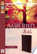 Amplified Bible-Am-Large Print Zipper