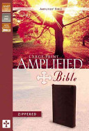 Amplified Bible Am Large Print Zipper
