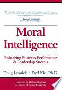 Moral Intelligence Book