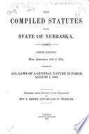 The Compiled Statutes of the State of Nebraska