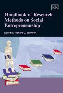 Handbook of Research Methods on Social Entrepreneurship