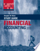 Study Guide to Accompany Financial Accounting, 8e