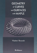 Geometry of Curves and Surfaces with MAPLE [Pdf/ePub] eBook