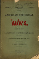 The American Periodical Index