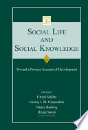 Social Life and Social Knowledge Book