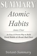 Summary of Atomic Habits Pdf/ePub eBook