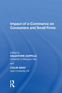 Impact of e Commerce on Consumers and Small Firms