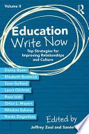 Education Write Now Volume Ii