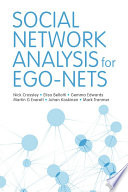 Social Network Analysis for Ego Nets Book