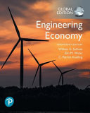 Cover of Engineering Economy, Global Edition