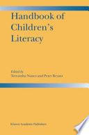 Handbook of Children   s Literacy