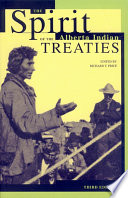 The Spirit of the Alberta Indian Treaties Book