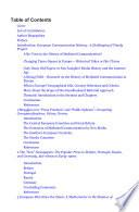 The Handbook of European Communication History