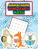 Animal Name Word Search Puzzle