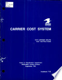 Carrier cost system