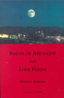 Poems of Jerusalem ; And, Love Poems