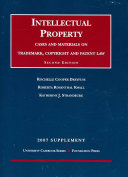 Intellectual Property Supplement: Cases and Materials on ...