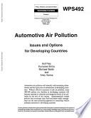 Automotive Air Pollution