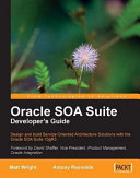 Oracle SOA Suite Developer's Guide Pdf/ePub eBook