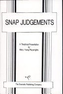 Pdf Snap Judgements