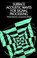 Surface Acoustic Waves For Signal Processing Book PDF