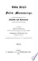 Folio Manuscript  Ballads and romances