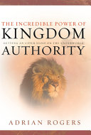 The Incredible Power of Kingdom Authority: Getting an Upper ...