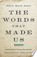 The Words That Made Us Book