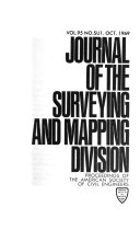 Journal of the Surveying and Mapping Division
