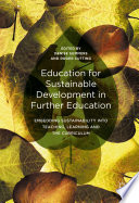 Education for Sustainable Development in Further Education