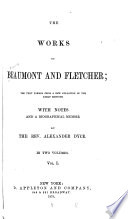 The Works of Beaumont and Fletcher Book PDF