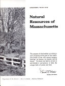 The Natural Resources of Massachusetts