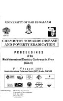 Chemistry Towards Disease and Poverty Eradication Book