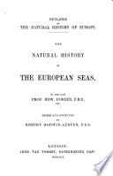 The Natural History Of The European Seas