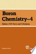 Boron Chemistry – 4