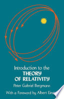 Introduction to the Theory of Relativity Book