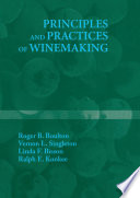 Principles and Practices of Winemaking Book