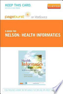 Health Informatics Pageburst on VitalSource Access Code