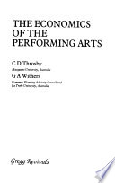 The economics of the performing arts