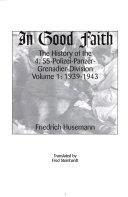 In Good Faith  1939 1943   v  2  1943 1945