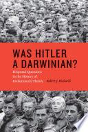 Was Hitler a Darwinian