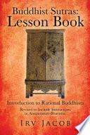 Buddhist Sutras  Lesson Book