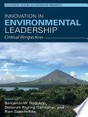 Innovation in Environmental Leadership