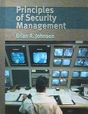Principles of Security Management Book