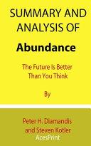 Summary and Analysis of Abundance