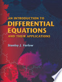 An Introduction to Differential Equations and Their Applications