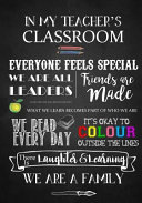 In My Teacher's Classroom